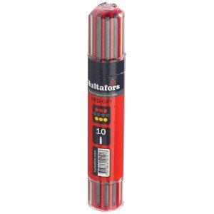 Hultafors 650120 Dry-Marker Refill Assorted (Pack 10)