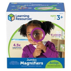 Learning Resources Jumbo Magnifiers - Set Of 6
