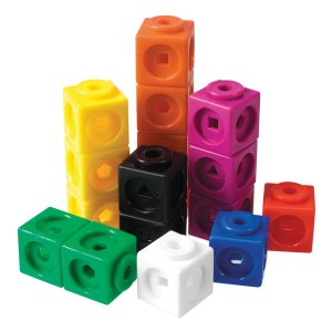Learning Resources Mathlink® Cubes, Set Of 100