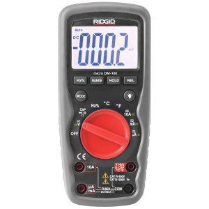 RIDGID 37423 DM-100 Micro Digital Multimeter 37423