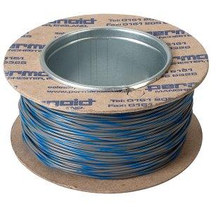Rapid Equipment Wire 16/0.2mm Grey/Blue 100m