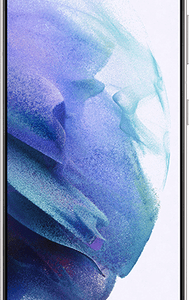 Samsung Galaxy S21 5G 128GB Phantom White at £129 on Red (24 Month contract) with Unlimited mins & texts; 25GB of 5G data. £39 a month.
