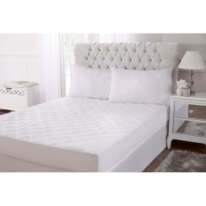 Cascade Home Lux like down Double Mattress Protector Set