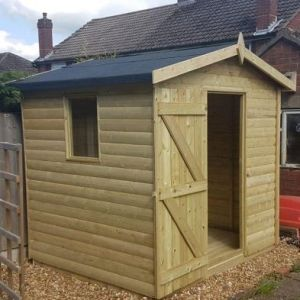 Garden Storage Shed 8x6 with Apex Roof