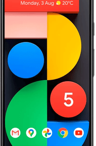 Google Pixel 5 5G (128GB Just Black) at £29 on Pay Monthly 6GB + 3 Xtra Benefits + Entertainment (36 Month contract) with Unlimited mins & texts; 6GB of 5G data. £41 a month.