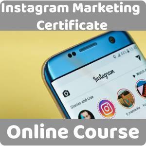 Instagram Marketing Certificate Training Course