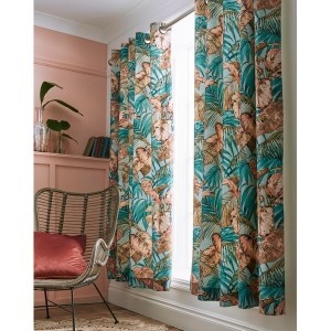 """Joe Browns Tantalizing Tropical Curtains - 66x72"""" - Fully Lined - Multi"""