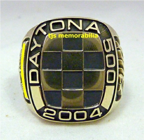2004 DAYTONA 500  WINNERS CHAMPIONSHIP RING