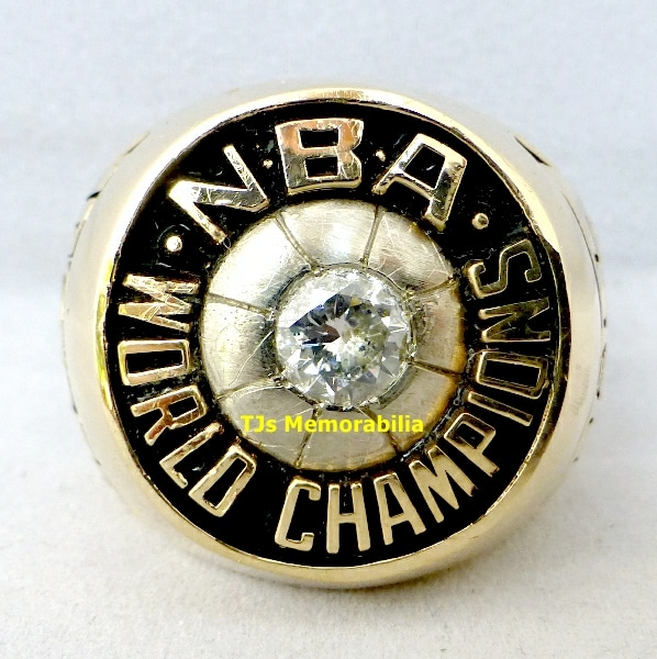 1980 & 1987 LOS ANGELES LA LAKERS NBA CHAMPIONSHIP RINGS