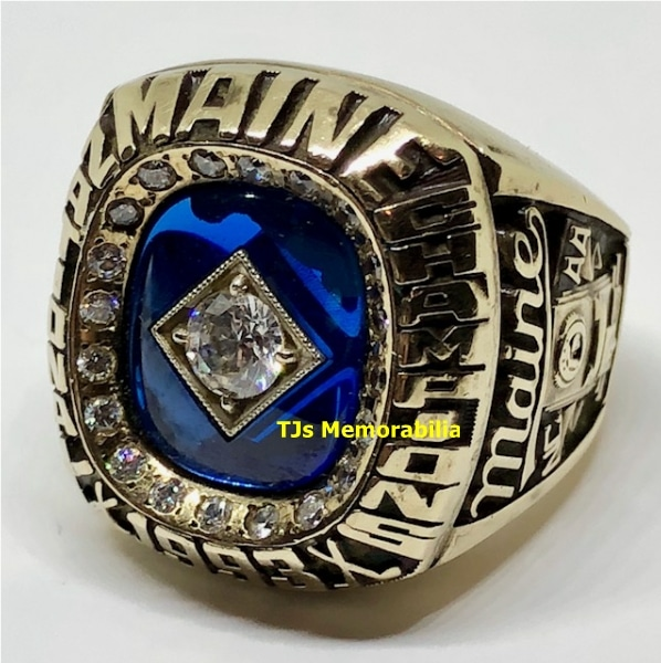 1993 MAINE BLACK BEARS HOCKEY NATIONAL CHAMPIONSHIP RING