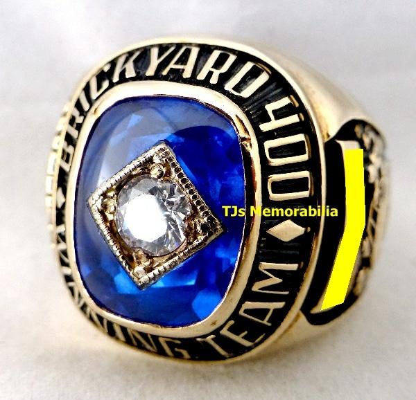 1994 BRICKYARD 400 WINNERS CHAMPIONSHIP RING