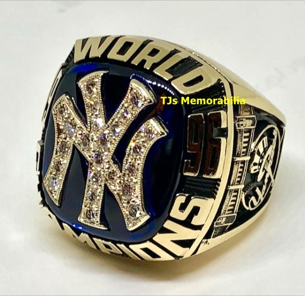 1996 NEW YORK YANKEES WORLD SERIES CHAMPIONSHIP RING