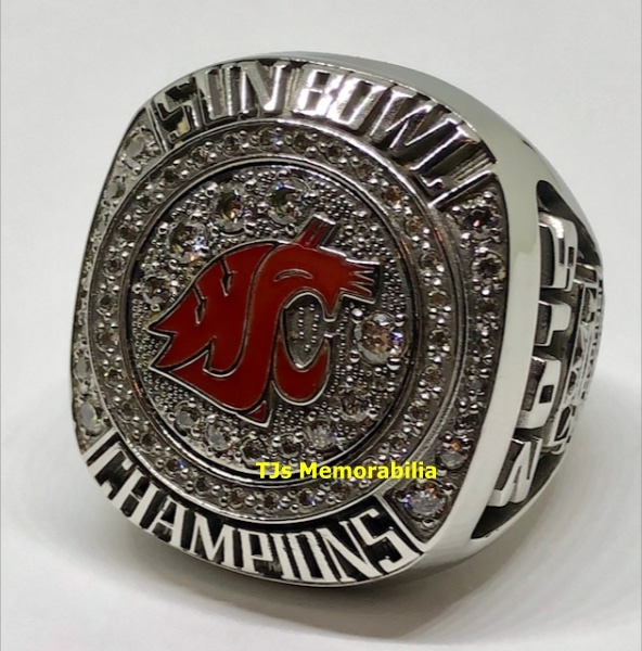 2015 WASHINGTON STATE COUGARS SUN BOWL CHAMPIONS CHAMPIONSHIP RING