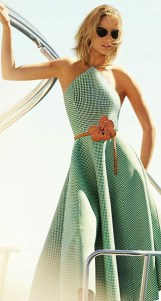 Платье с американской проймой