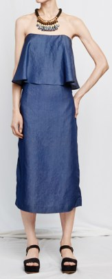 Как подобрать платье без бретелей