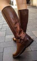 Байкерские 13-ти дюймовые сапоги