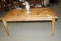 Farmhouse Kitchen Table Mango Wood Refectory - Antique ...