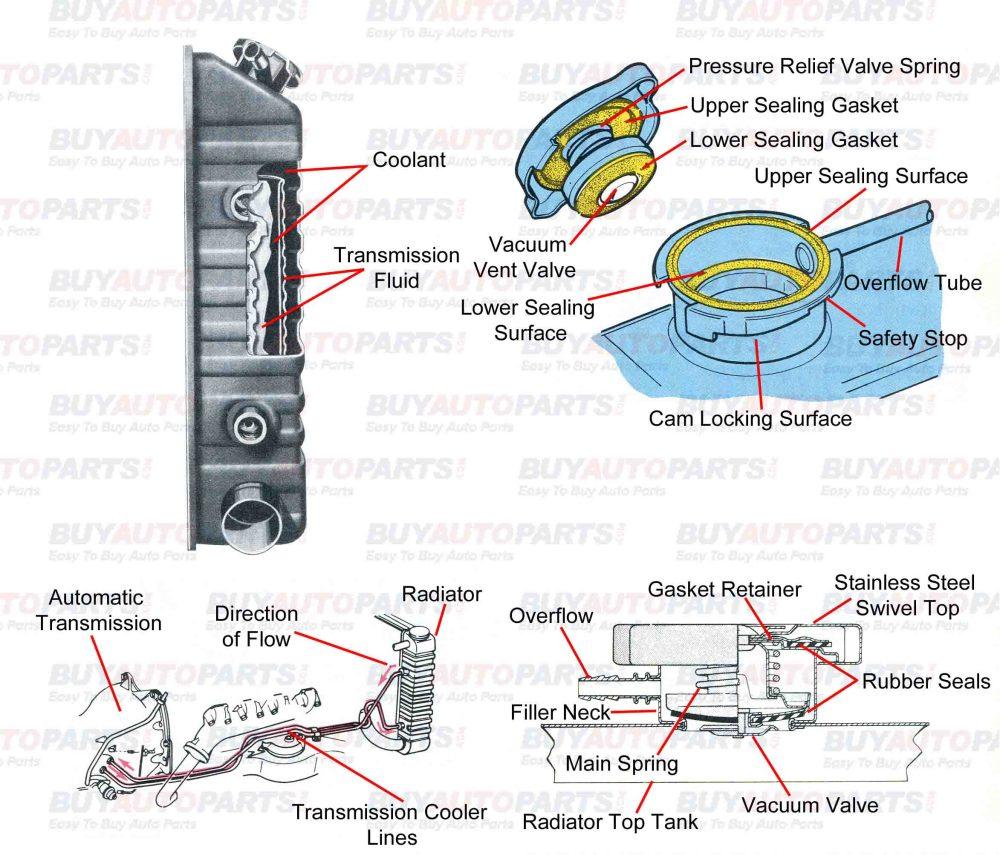 medium resolution of radiator cap diagram