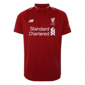 2018-2019 Liverpool Home Half Sleeve Shirt