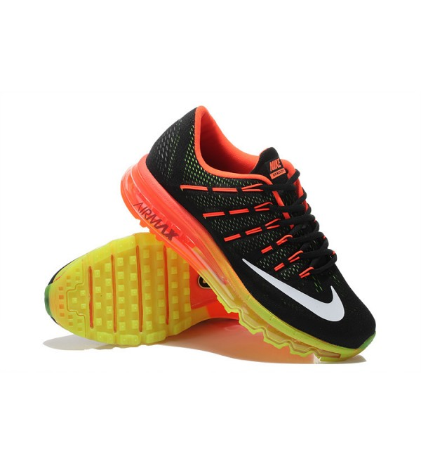 the best attitude 60409 a934d CHEAP AIR MAX 2016 BLACK ORANGE GREEN UK