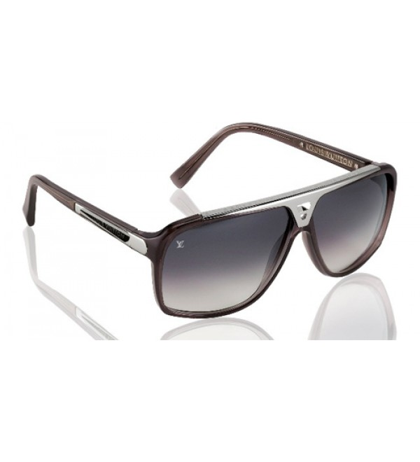 eab51de3fdb Louis Vuitton Evidence Sunglasses Black Silver - Buy best