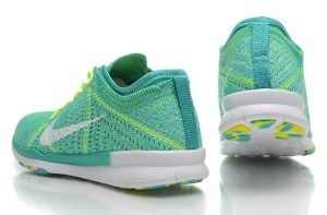 free shipping af688 231ba NEW RELEASE NIKE FREE FLYKNIT 5.0 KNIT VAMP MENS RUNNING SHOES GREEN YELLOW