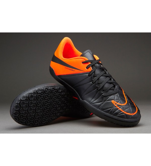 9c8da1ea8 NIKE - HYPERVENOM PHELON II IC BLACK TOTAL ORANGE - Buy ...