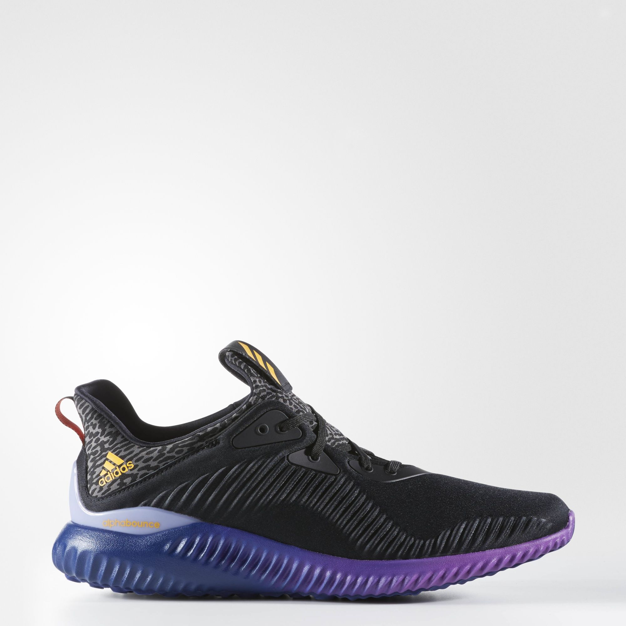autumn shoes vast selection 100% high quality ADIDAS RUNNING ALPHA BOUNCE BLACK - Buy best