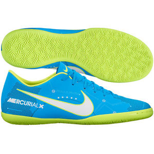 Mercurial X Blue and yellow