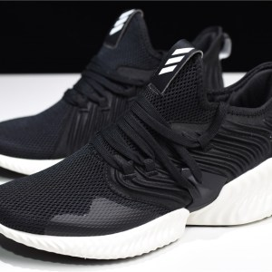 2018 adidas alphaBounce Instinct M Black/White D97280