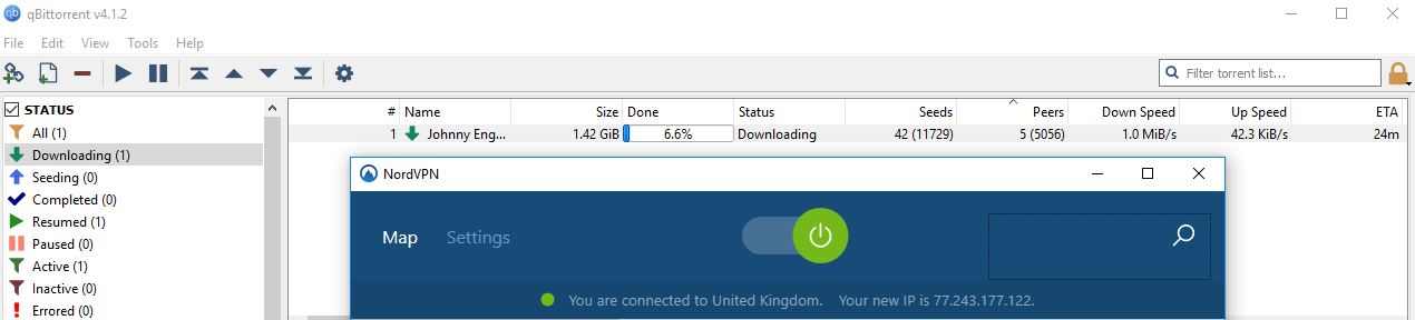 nordvpn uk server for torrenting