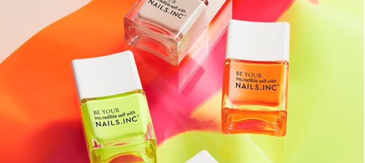 Up to 60% Off Nails.INC Banner