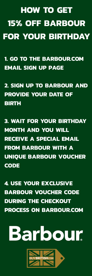How to get 15% off Barbour at Barbour.com Guide Instructions Tips