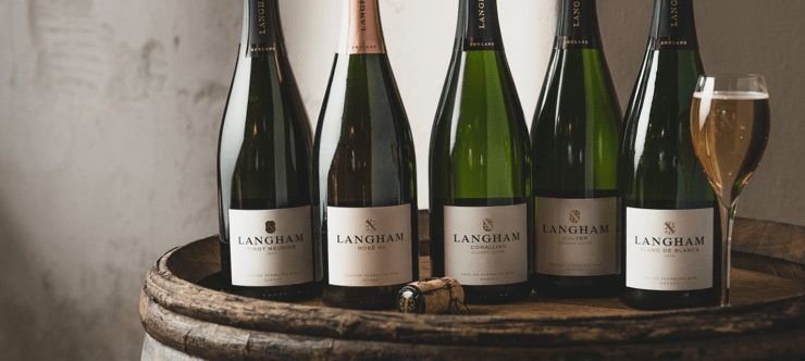 Langham Wine Free Delivery and Special Offers Banner