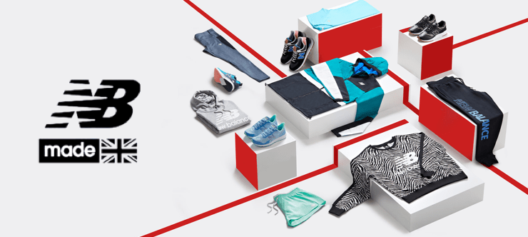 50% Off New Balance and Free Shipping Banner