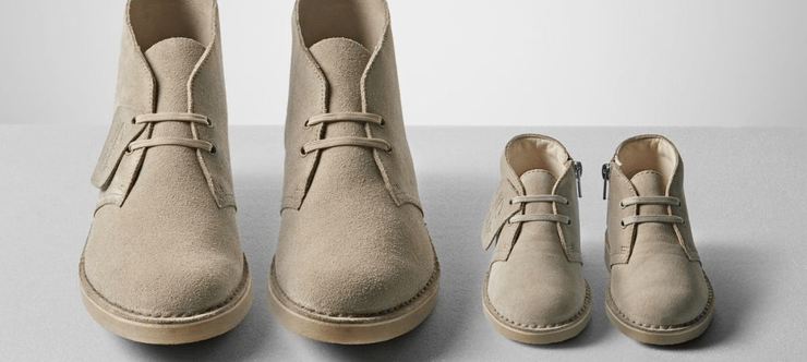 50% Off Clarks Boots - Banner