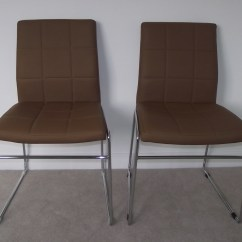 Retro Dining Room Chairs Office Chair Ideas Pair Of Tan With Chrome Legs Buy