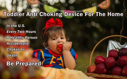 Toddler Anti Choking Device For The Home