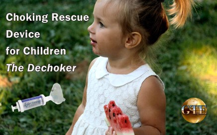 Choking Rescue Device for Children
