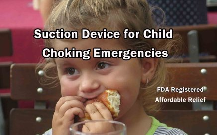 Suction Device for Child Choking Emergencies