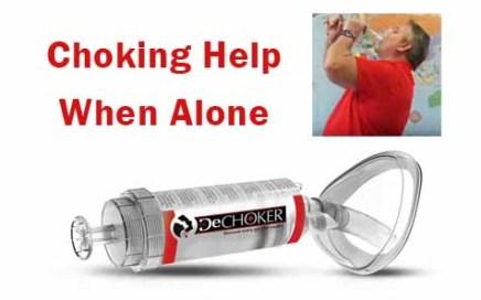 Choking Help When Alone