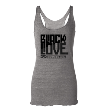 Black Love Racerback Tank