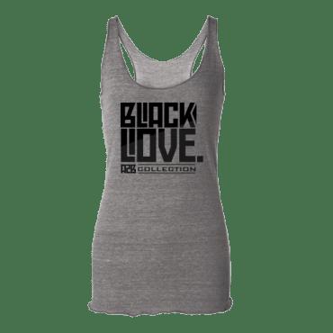 Black Love Racerback Tank