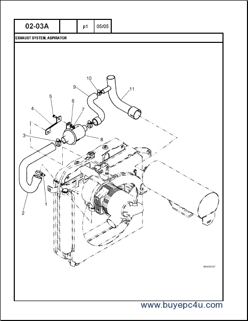 CASE 430 Skid Steer Loader Parts Catalog