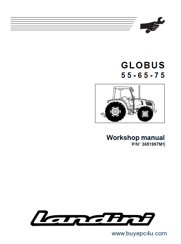 Landini Globus 55-65-80 Training & Workshop Manuals PDF
