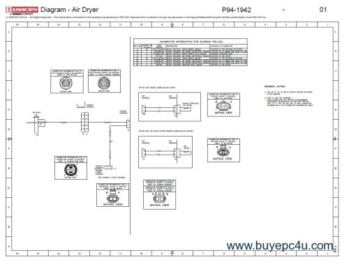 small resolution of kenworth t660 cummins ism isx schematics manual pdf 2012 kenworth t660 wiring diagram kenworth t660 headlight