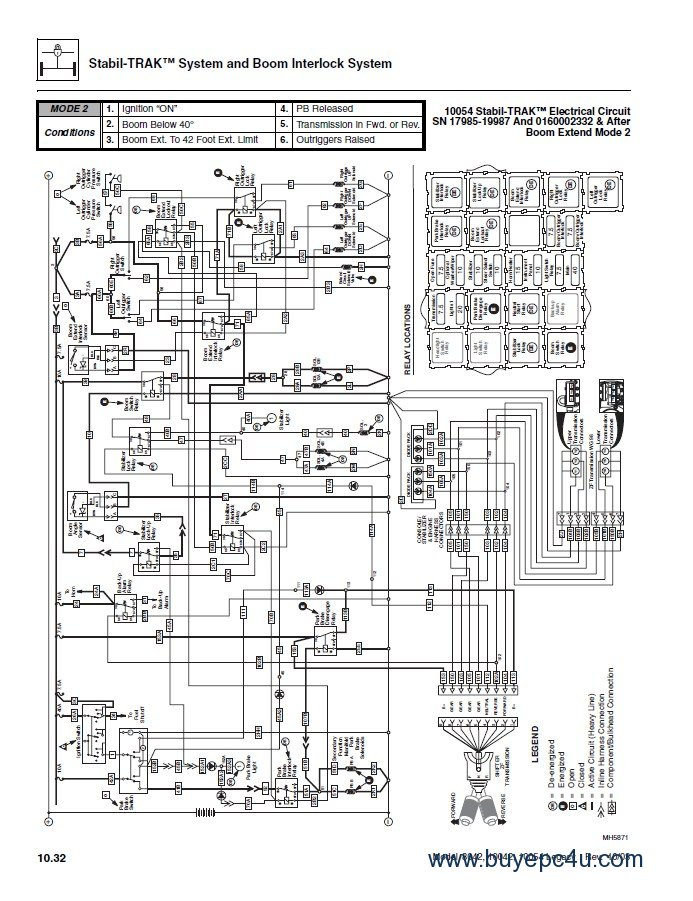 jlg wiring diagram machine repair manual Lesco Wiring Diagram