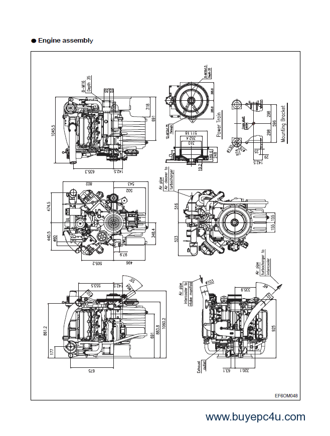 Daewoo Engine Diagram: Daewoo forklift diagrams