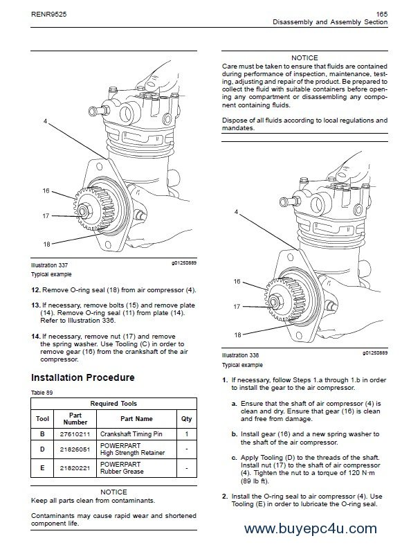 Perkins 1104D Industrial Engine Operation & Maintenance PDF