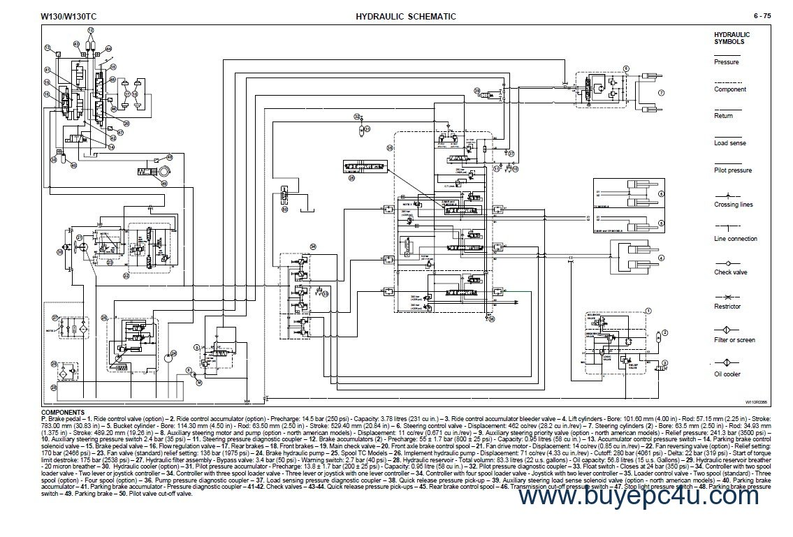 hight resolution of new holland wiring schematic wiring diagram new holland w130 w130tc wheel loader workshop manualthe screenshot of